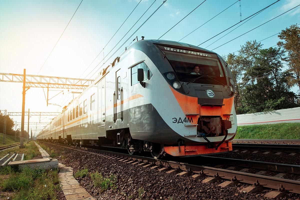 Московские пригородные поезда компании ЦППК