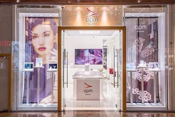 APM Monaco, ювелирный магазин