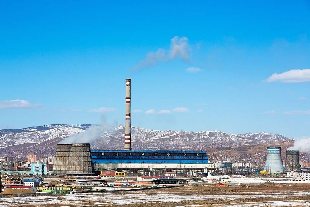 Монгольская ТЭЦ-4, г. Улан-Батор